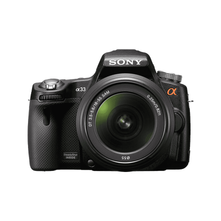 Digital SLT 14.2 Megapixel Camera with SAL1855 and SAL55200-2 Lens, , hi-res