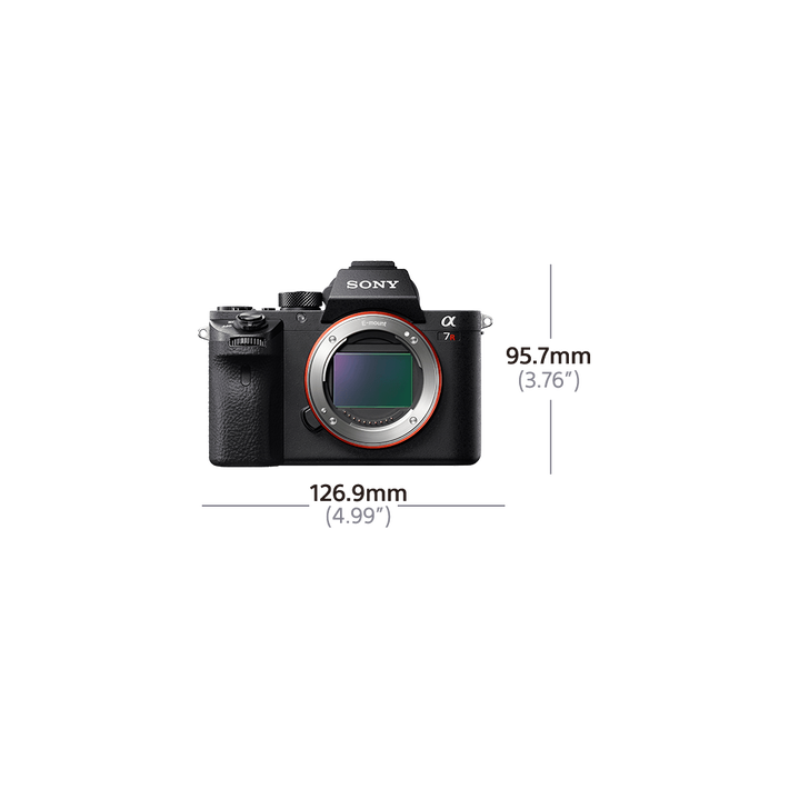 Alpha 7R II Digital E-Mount Camera with Back-Illuminated Full Frame Sensor (Body only), , product-image