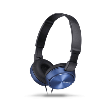 ZX310 Folding Headphones (Blue), , hi-res