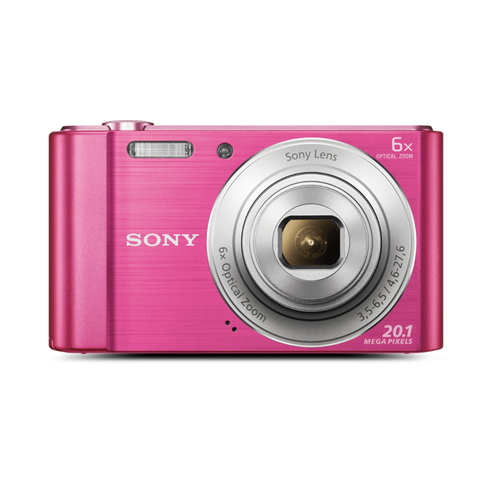 W810 Digital Compact Camera with 6x Optical Zoom (Pink), , product-image