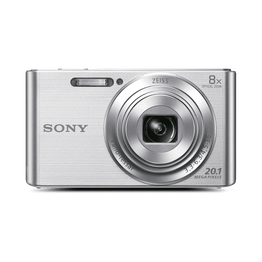 W830 Digital Compact Camera with 8x Optical Zoom (Silver), , hi-res