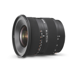 A-Mount 11 18mm F4.5 5.6 Wide Lens, , hi-res
