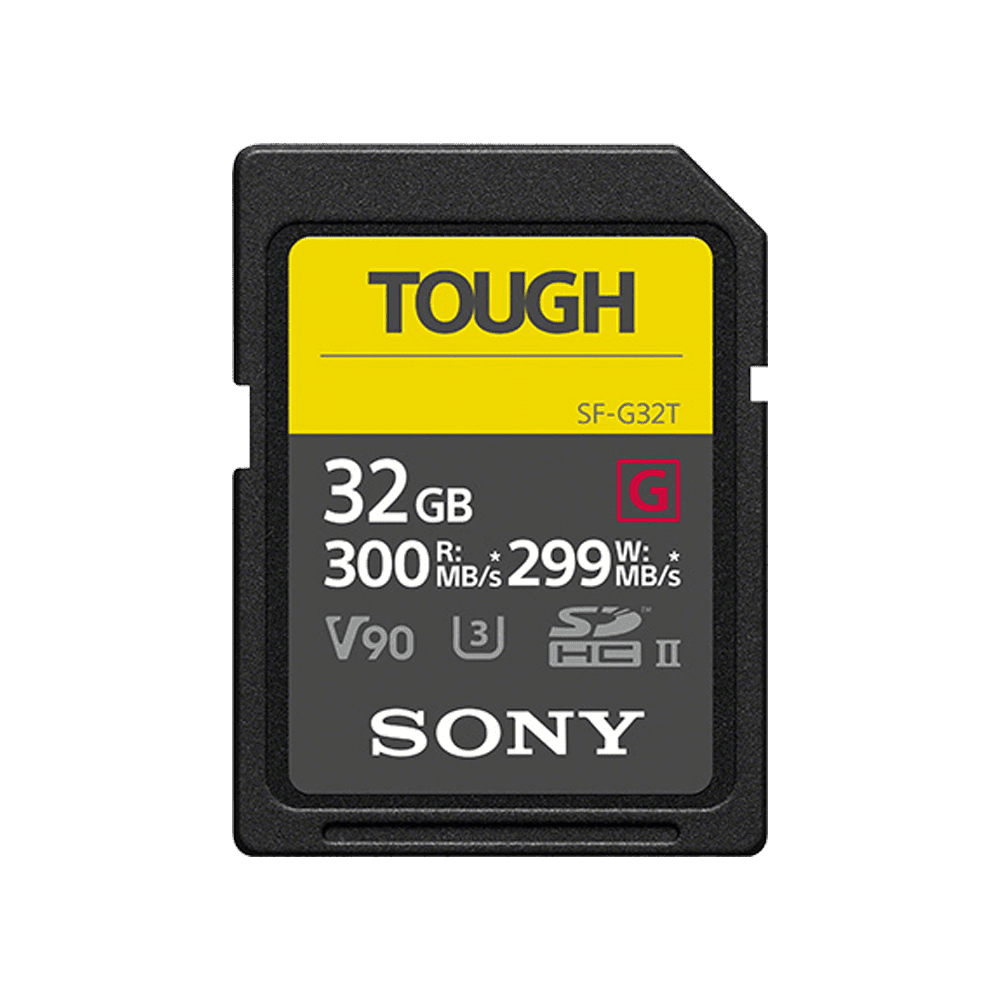 32GB SF-G Tough Series UHS-II SD Memory Card, , product-image