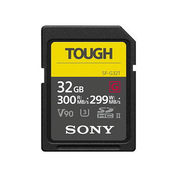 32GB SF-G Tough Series UHS-II SD Memory Card, , lifestyle-image
