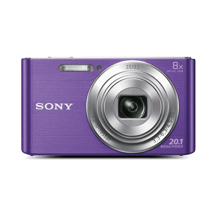 W830 Digital Compact Camera with 8x Optical Zoom (Purple), , product-image