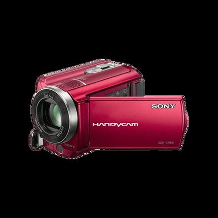 80GB SR68 Hard Disk Drive Camcorder (Red), , hi-res