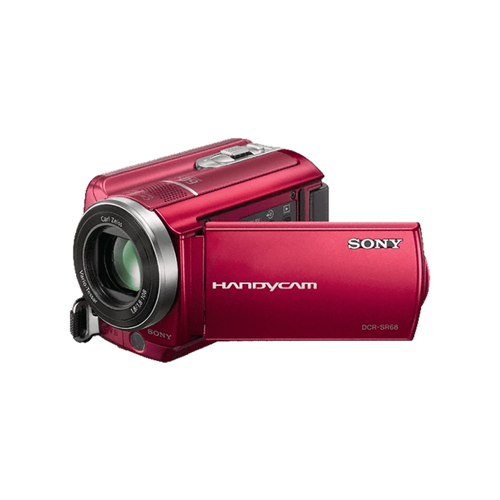 80GB SR68 Hard Disk Drive Camcorder (Red), , product-image