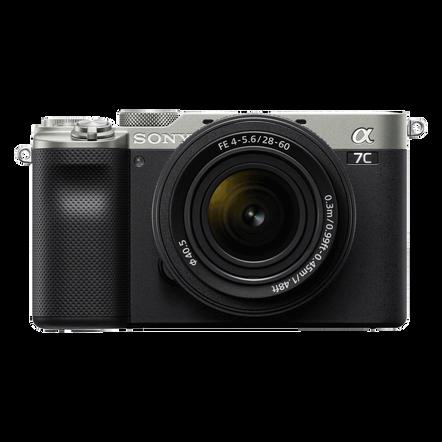 Alpha 7C - Compact Digital E-Mount Camera with SEL2860 28-60mm Lens (Silver), , hi-res