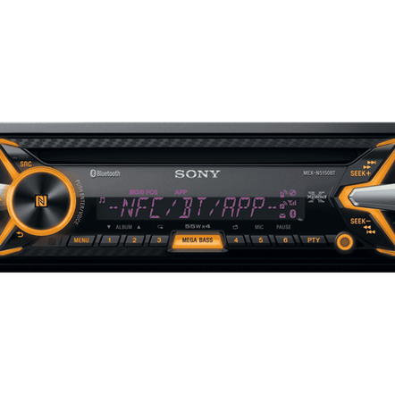 In-Car MP3/WMA/Tuner Player with Bluetooth