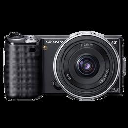 14.2 Megapixel Camera (Black) with SEL16F28 Lens, , hi-res
