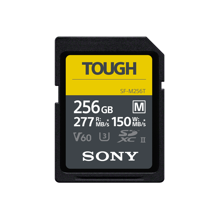 SF-M series TOUGH UHS-II SD Card 256GB, , product-image