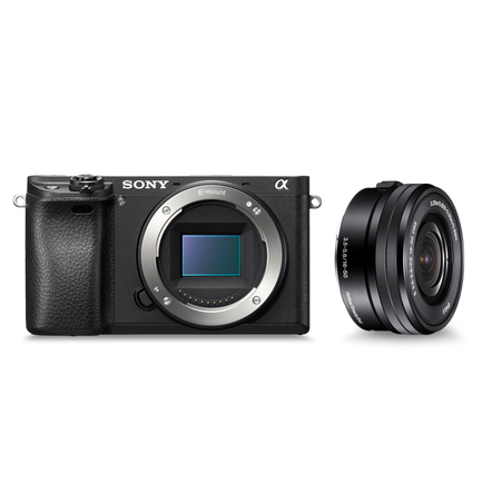 a6300 E-mount camera with E-Mount 16-50mm Zoom Lens