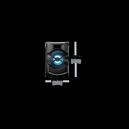 High Power Mini Hi-Fi System with Bluetooth, , hi-res