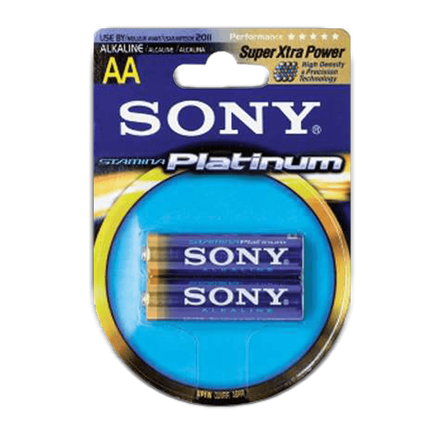 Stamina Platinum AA Size 2-pc Blister pack, , hi-res