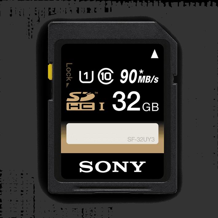 32GB SDHC Memory Card USH-1 Class 10 R70, , product-image