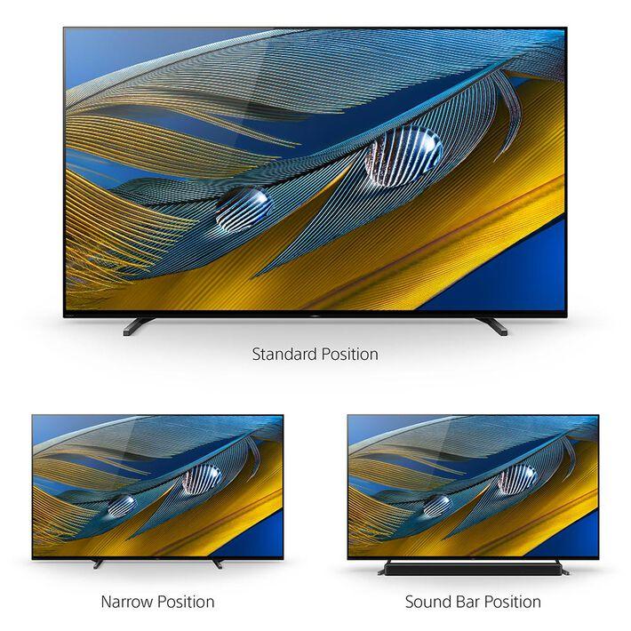 "65"" A80J | BRAVIA XR | OLED | 4K Ultra HD | High Dynamic Range (HDR) | Smart TV (Google TV), , product-image"