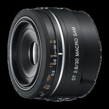 A-Mount DT 30mm F2.8 Macro SAM Lens, , hi-res