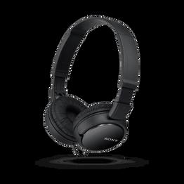 ZX110 Entry Overhead Headphones (Black), , hi-res