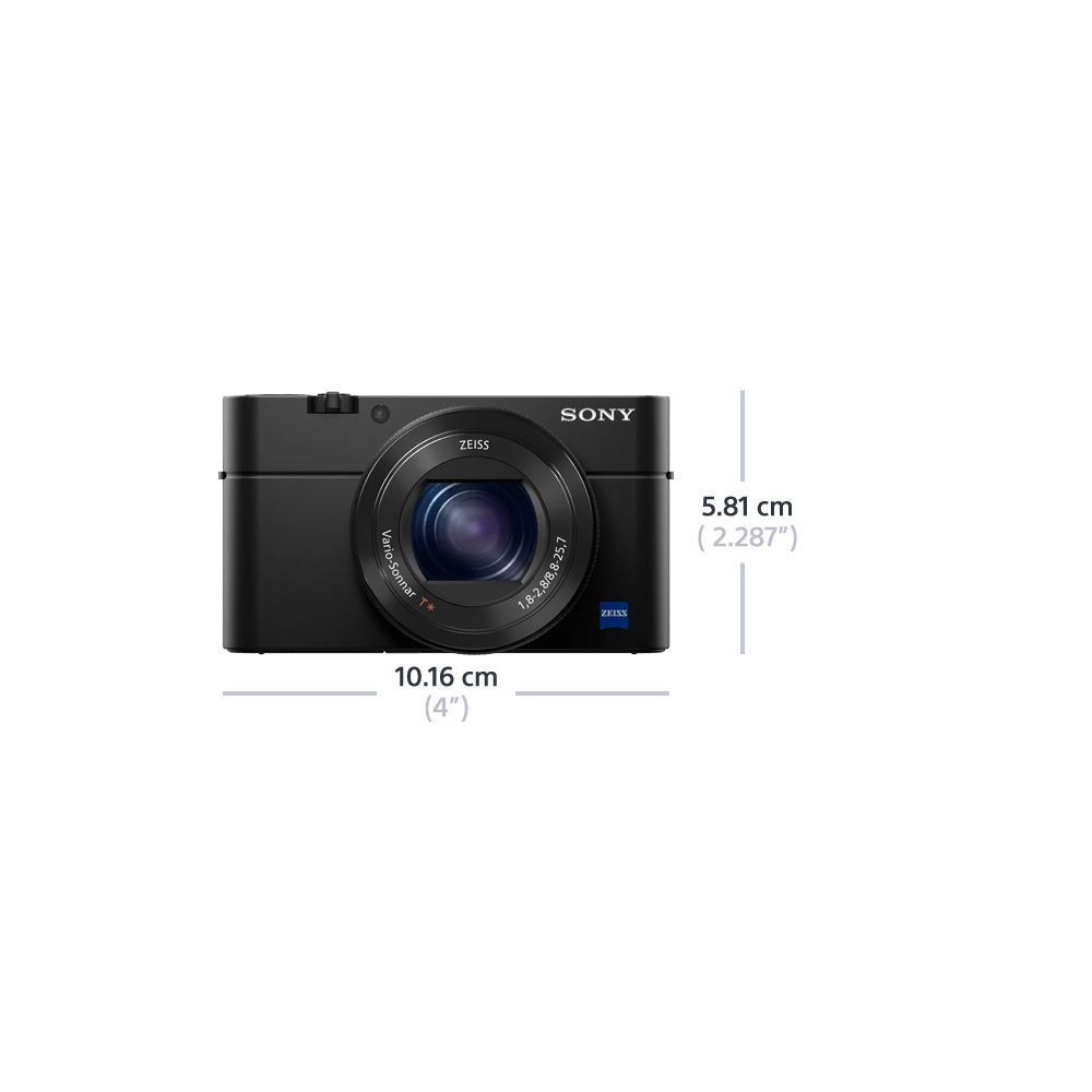 RX100 IV Digital Compact Camera with 2.9x Optical Zoom, , product-image
