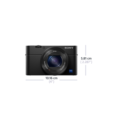 RX100 IV Digital Compact Camera with 2.9x Optical Zoom