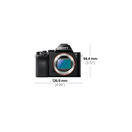 Alpha 7S Digital E-Mount Camera with Full Frame Sensor (Body only), , hi-res