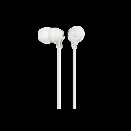 In-Ear Lightweight Headphones (White), , hi-res