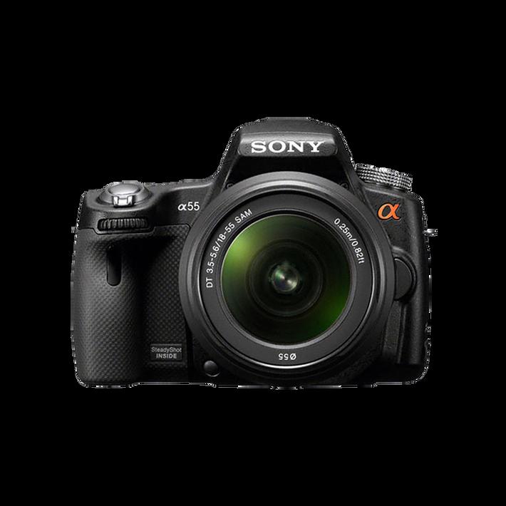 Digital SLT 16.2 Megapixel Camera with SAL1855 Lens, , product-image