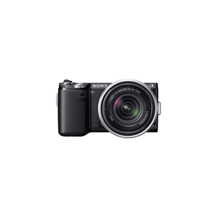 16.1 Mega Pixel Camera (Black) with SEL1855 Lens, , product-image