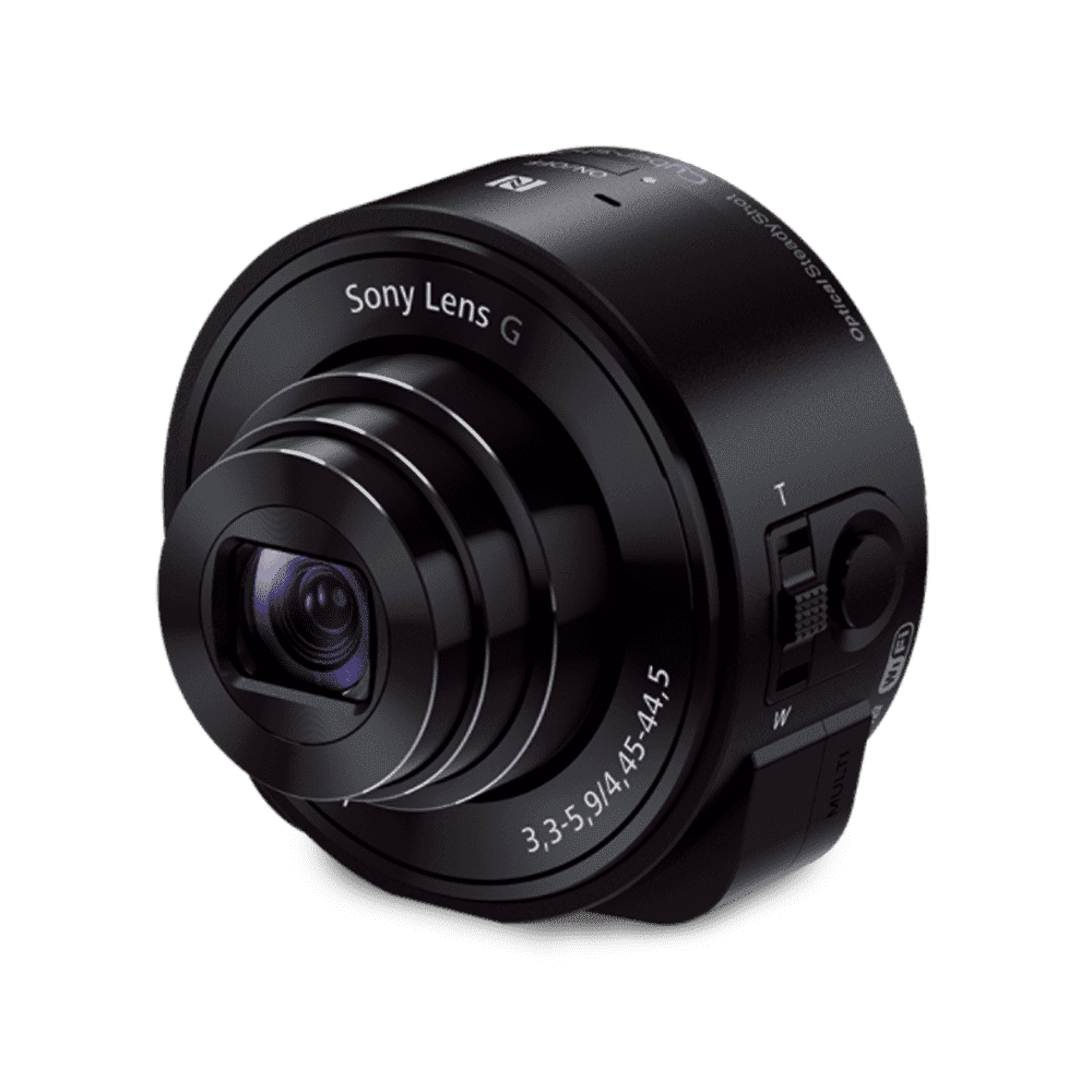 QX10 Lens-Style Camera with 18MP Sensor, , product-image