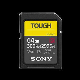 64GB SF-G Tough Series UHS-II SD Memory Card, , hi-res