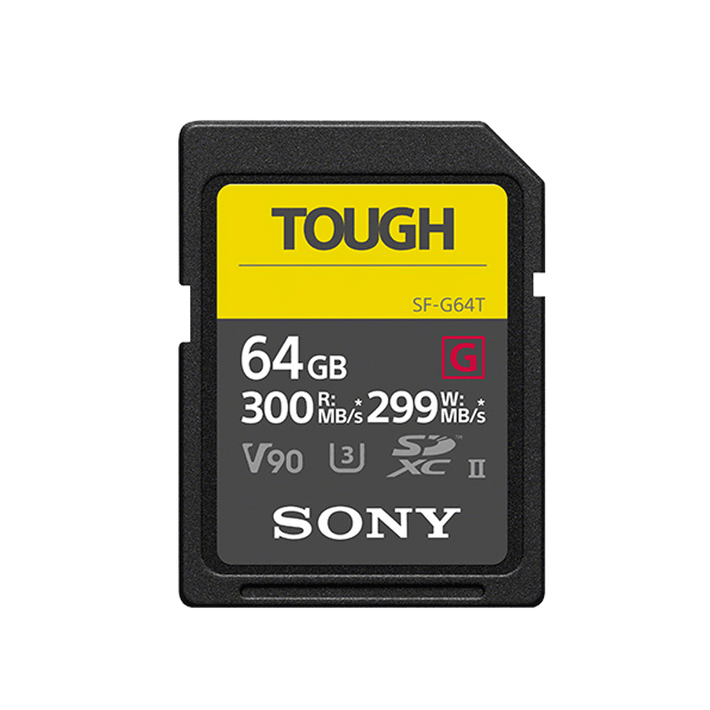 64GB SF-G Tough Series UHS-II SD Memory Card, , product-image