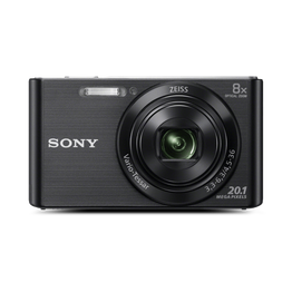W830 Digital Compact Camera with 8x Optical Zoom (Black)