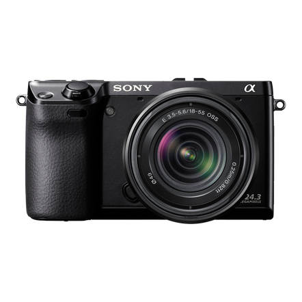 24.3 Mega Pixel Camera with SEL1855 Lens, , hi-res