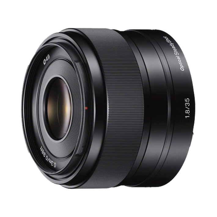 APS-C E-Mount 35mm F1.8 OSS Lens, , product-image