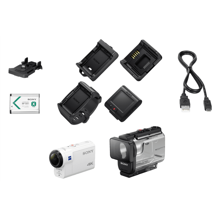 FDRX3000 4K Action Cam and Live-view Remote Kit, , product-image