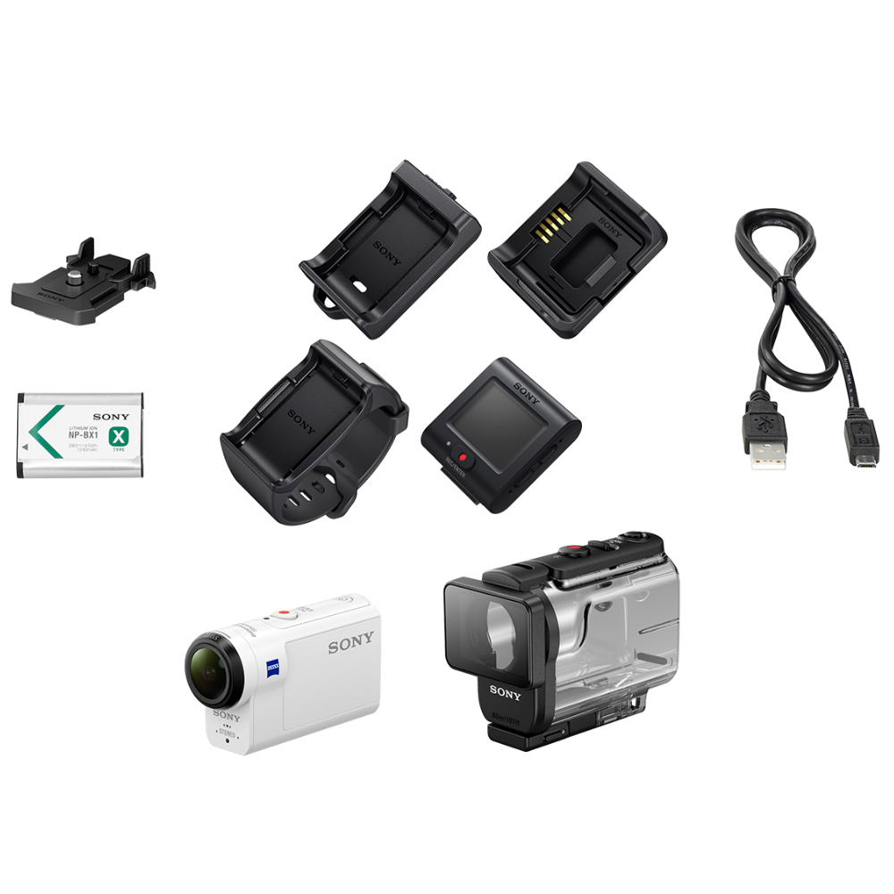 HDRAS300 Action Cam and Live-view Remote Kit, , product-image