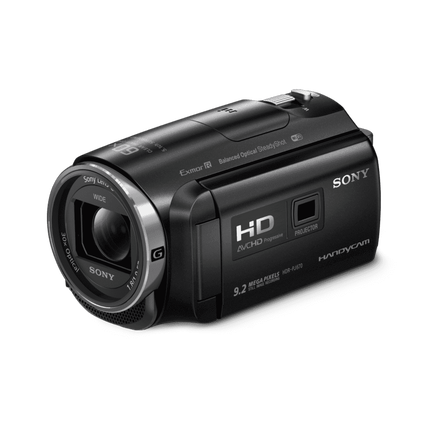 HD 32GB Flash Memory Handycam with Built-in Projector, , hi-res