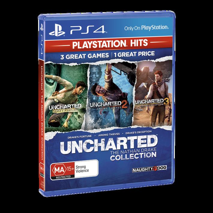 PlayStation4 Uncharted The Nathan Drake Collection (PlayStation Hits), , product-image