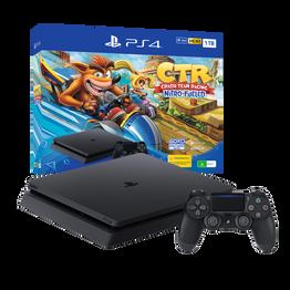 PlayStation4 Slim 1TB Console with Crash Team Racing Nitro-Fueled Bundle, , hi-res
