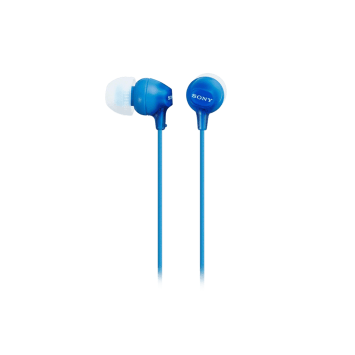 In-Ear Lightweight Headphones with Smartphone Control (Blue), , product-image