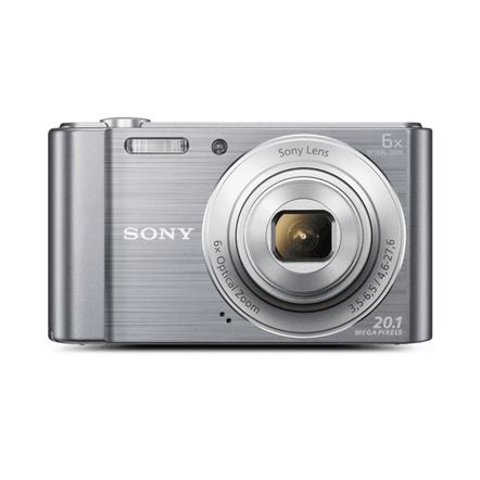 W810 Digital Compact Camera with 6x Optical Zoom (Silver), , hi-res