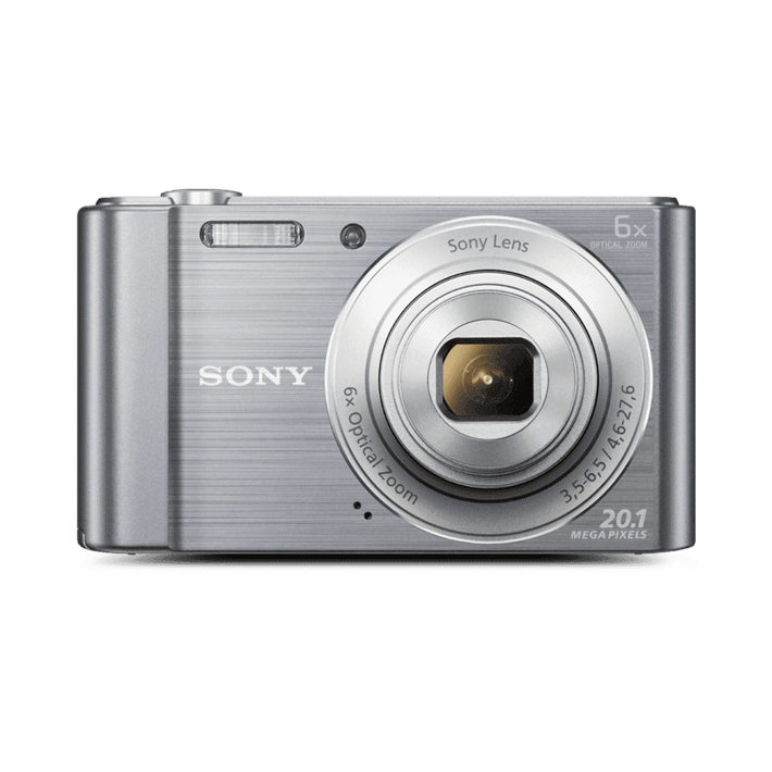 W810 Digital Compact Camera with 6x Optical Zoom (Silver), , product-image
