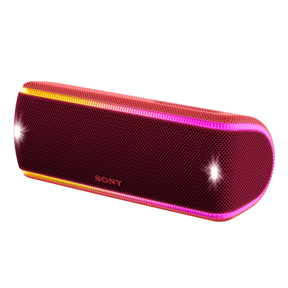 EXTRA BASS Waterproof Bluetooth Party Speaker (Red), , product-image