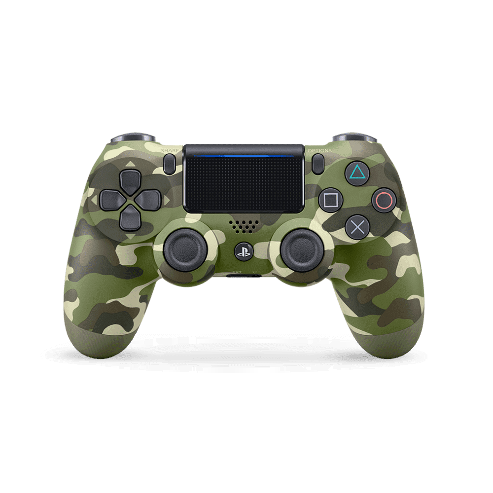 PlayStation4 DualShock Wireless Controller (Green Camo), , product-image