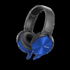 XB450AP EXTRA BASS Headphones (Blue)