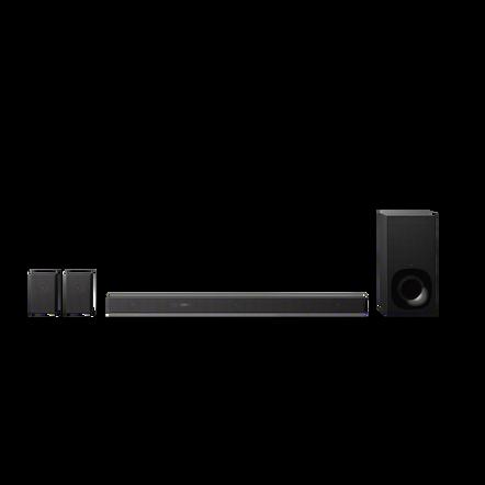 5.1ch Dolby Atmos DTS:X Soundbar with Wi-Fi & Bluetooth technology, , hi-res