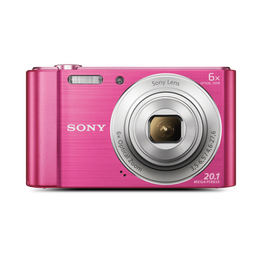 W810 Digital Compact Camera with 6x Optical Zoom (Pink), , hi-res