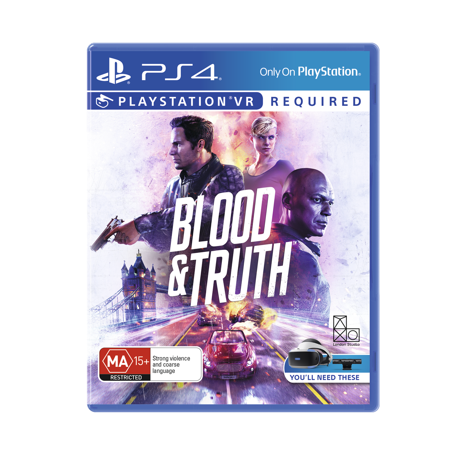 VR Blood and Truth, , product-image