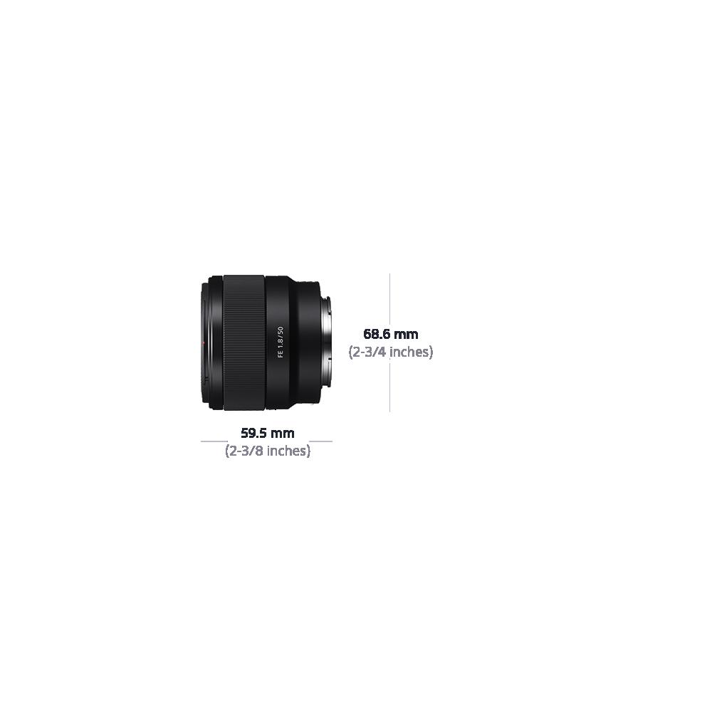Full Frame E-Mount 50mm F1.8 Lens, , product-image