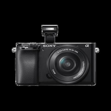 Alpha 6100 Digital E-Mount Camera (Black) with 16-50mm Lens , , hi-res